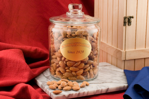 California Almonds - 3 Pound Glass Jar (Salted)