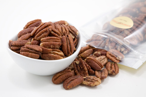 Roasted Pecan Halves (Salted)