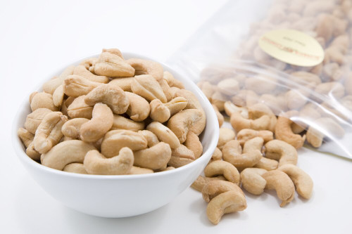 Roasted Whole Cashews (Unsalted)
