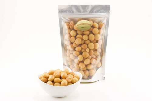 Roasted Deluxe Whole Macadamias (Unsalted)