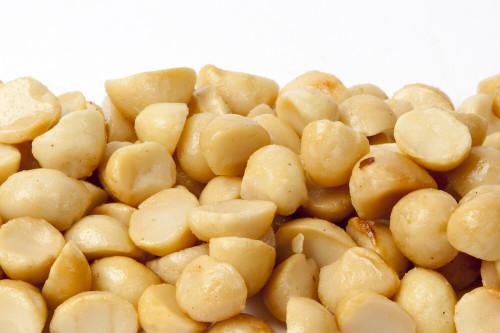 Roasted Macadamias Halves & Pieces (Unsalted)