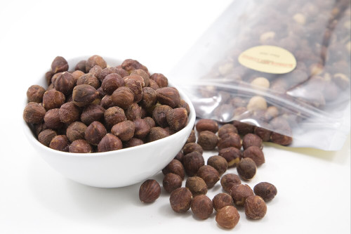 Roasted Oregon Hazelnuts (Unsalted)