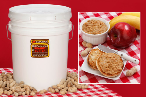 Chunky Peanut Butter 45 LBS (Unsalted)