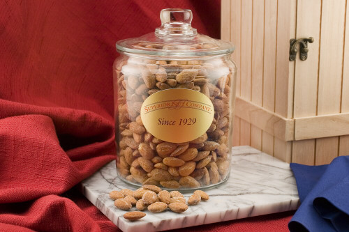 California Almonds - 6 Pound Jar (Unsalted)