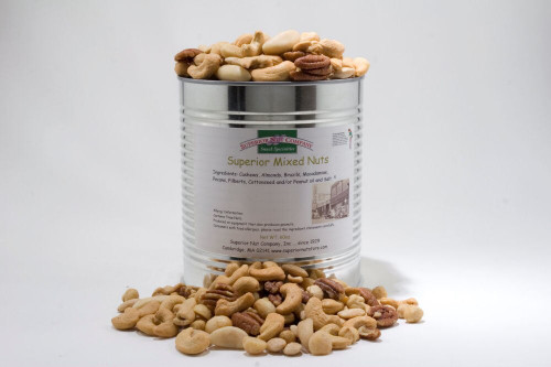 Superior Mixed Nuts - 3.75 lbs Can (Unsalted)