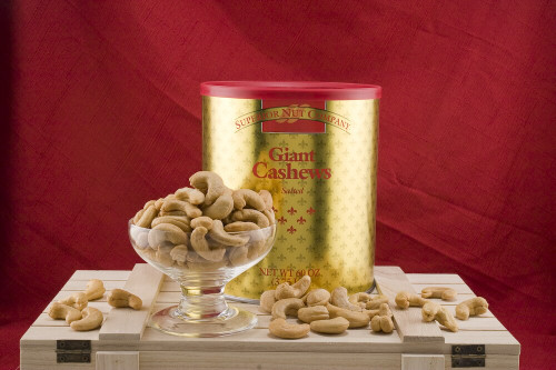 GIANT WHOLE CASHEWS (Unsalted) - 3.75 LBS