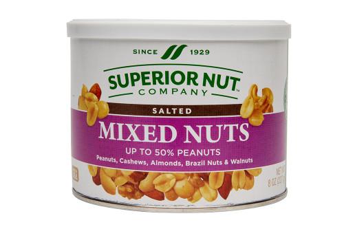Superior Nut Mixed Nuts 50% Peanuts