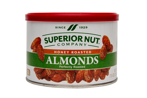 Superior Nut Honey Roasted Almonds