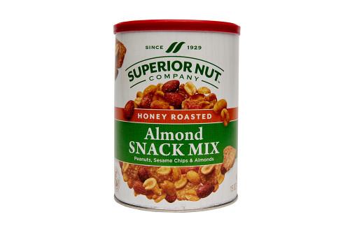 Superior Nut Company Original Honey Roasted Almond Snack Mix