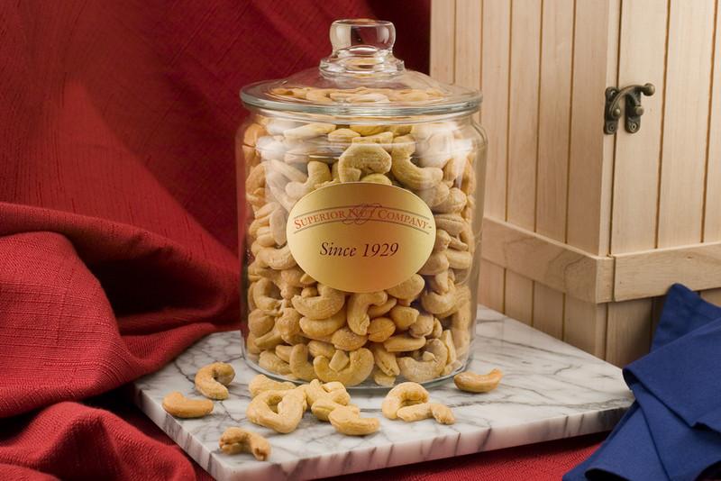 Nut Gift Jars