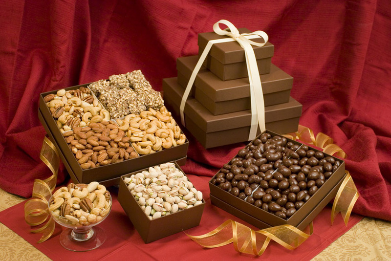 Nut Gift Towers