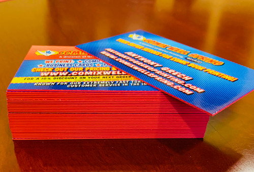 Business Cards Double Thick - 32PT