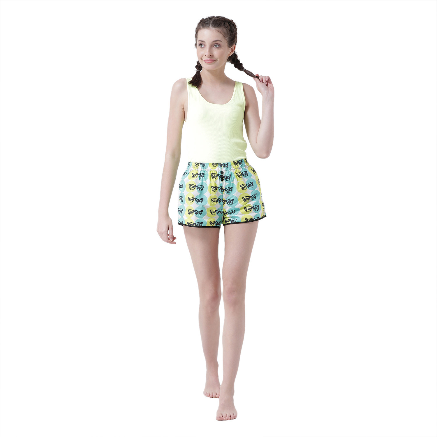 Moves Like Swagger Women's Cotton Shorts