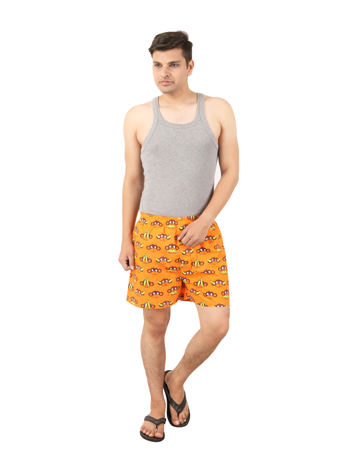 Hungry Monkey Men's Cotton Boxers
