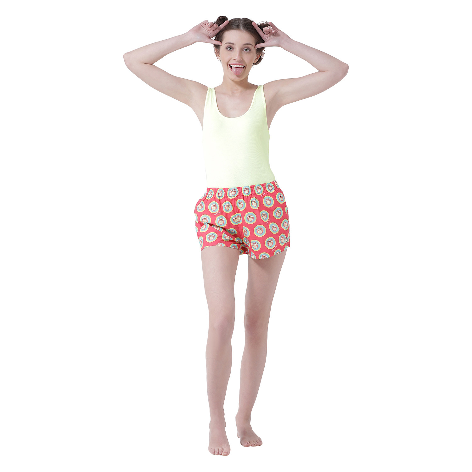 Get Your Geek On Women's Cotton Shorts