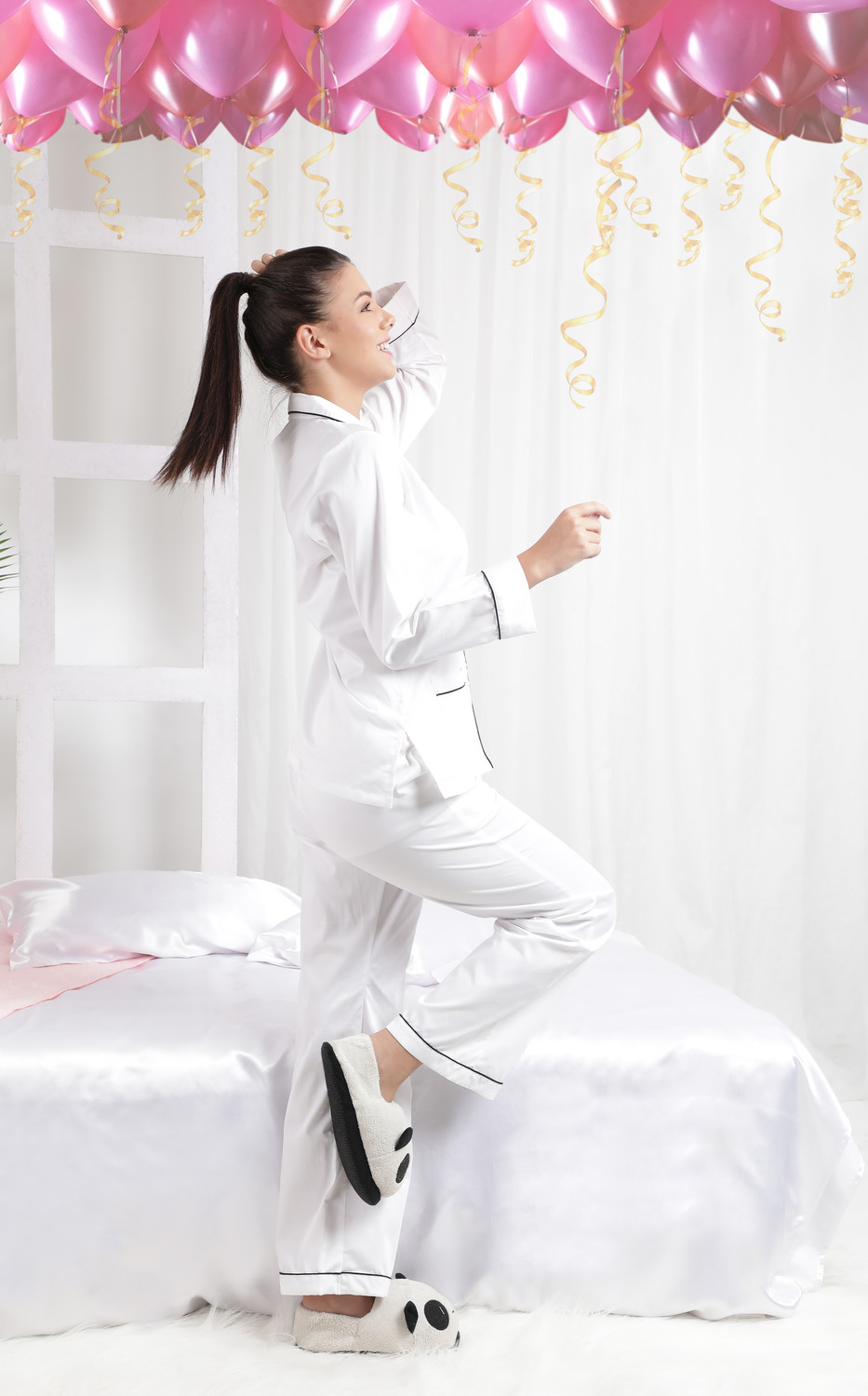 Ms.Coco Cotton-Satin Women's Night Suit