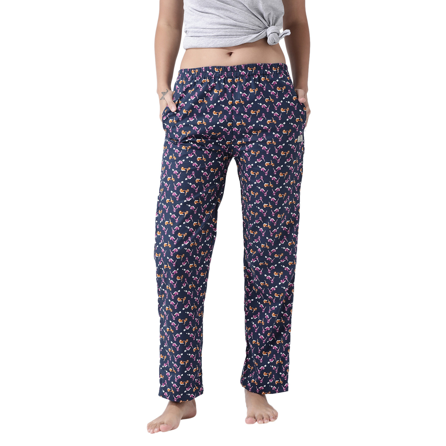 The Vespa Club Women's Cotton Pajamas