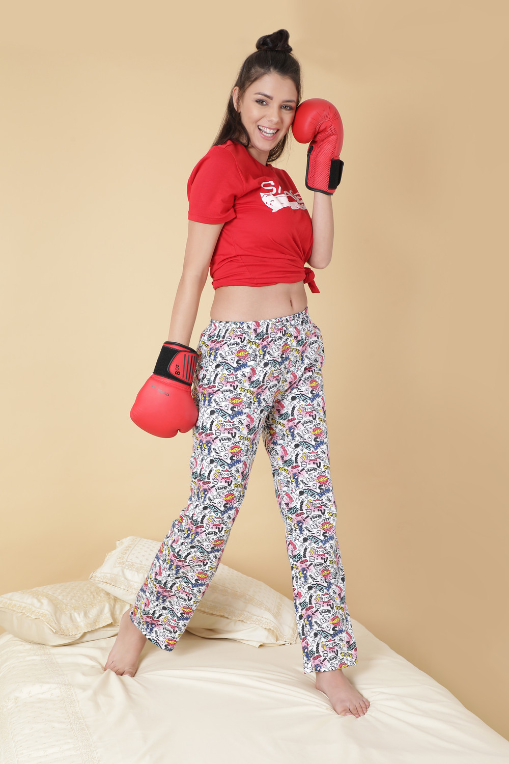 Kapow! Women's Cotton Pajamas