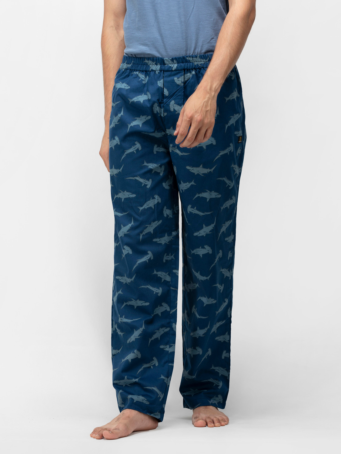 Fintastic Men's Cotton Pajamas
