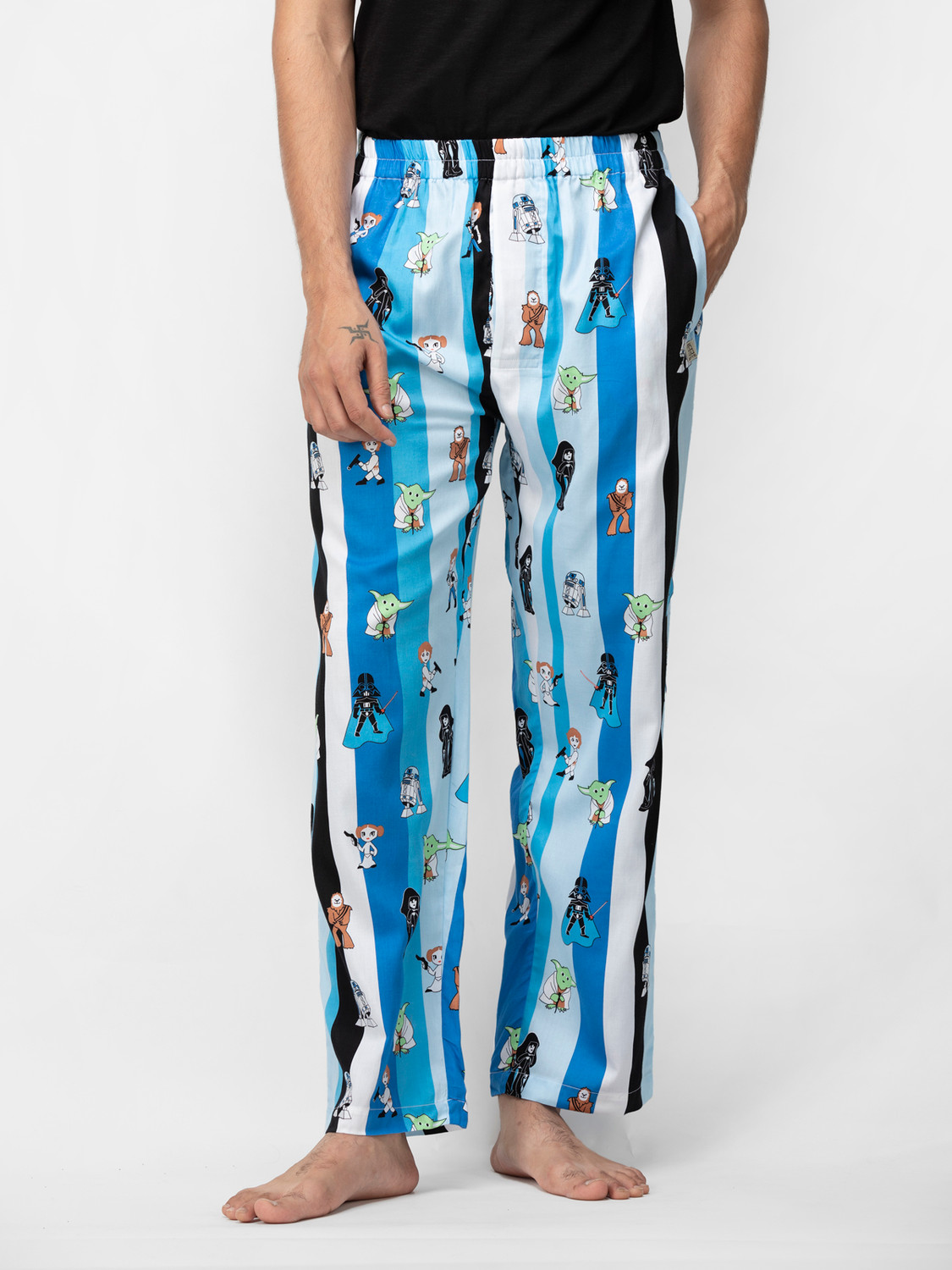 May The Force Be With You Men's Cotton Satin Pajamas