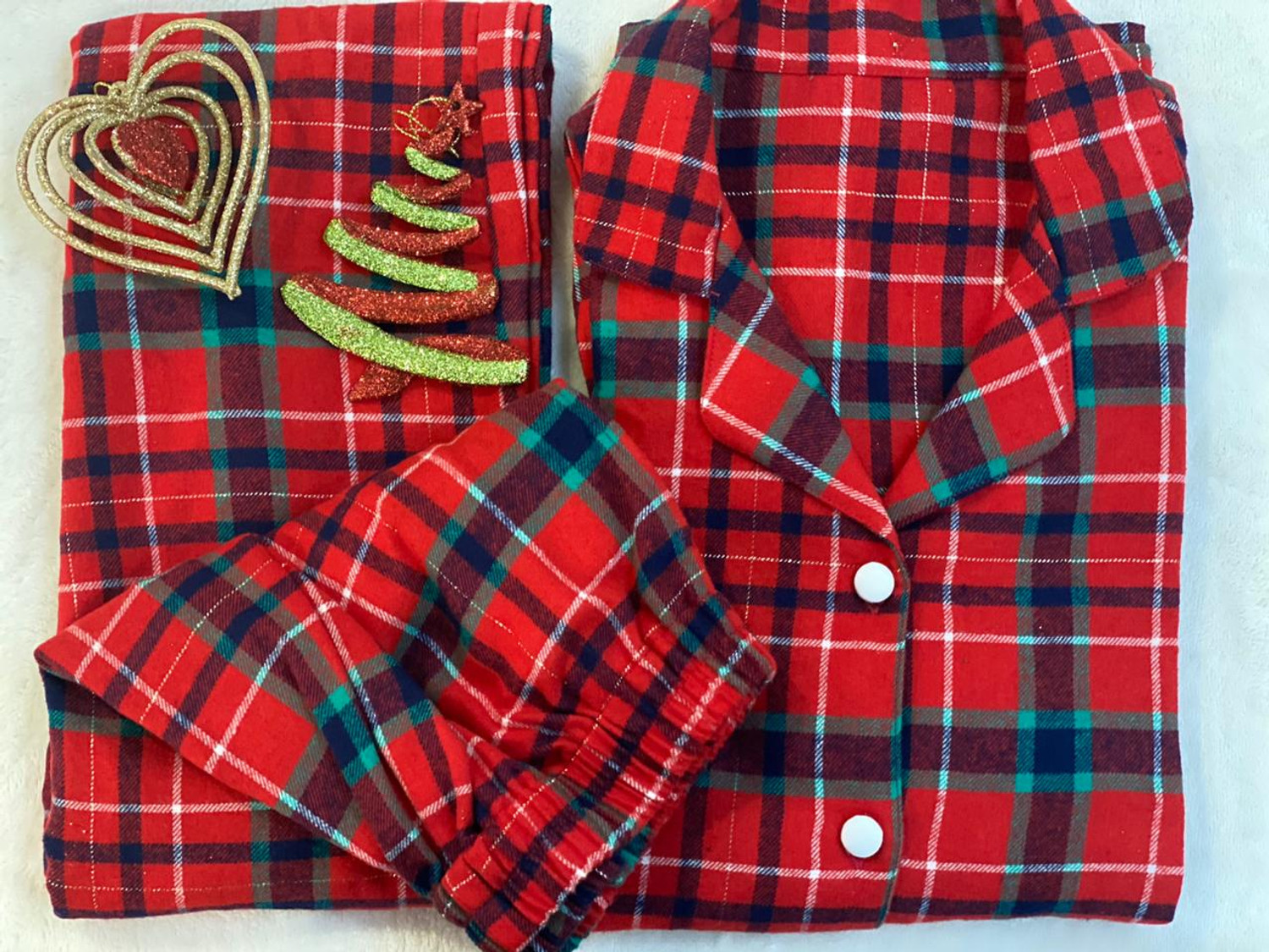 Ho Ho Ho Women's Flannel Nightsuit