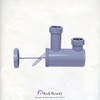 Plumbing Parts Kit for use with Shampoo Bowls with Small Gel Neck Rest TLC-116KS