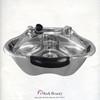 Polished Stainless Steel Beauty Salon Shampoo Bowl TLC-1368