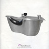 Brushed Stainless Steel Beauty Salon Shampoo Bowl TLC-1367