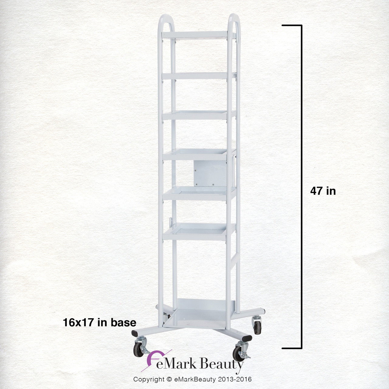 5 Tier Mobile Cart