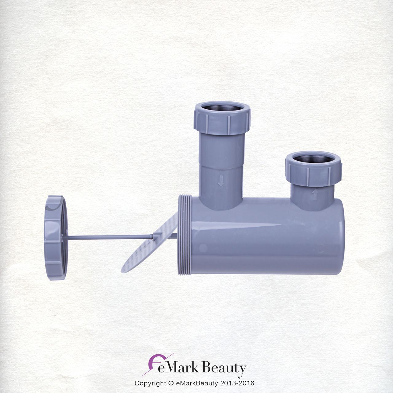 Wall mounted Backwash Shampoo ABS Plastic Bowl Salon Spa Equipment TLC-B13W