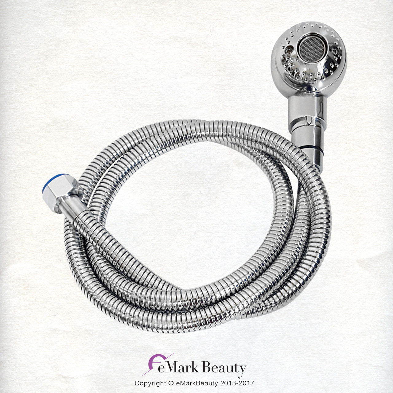 Plumbing Parts Kit Diverter Spray Hose Chrome Faucet for use with Shampoo Bowls with Small Gel Neck Rest TLC-1164DHG