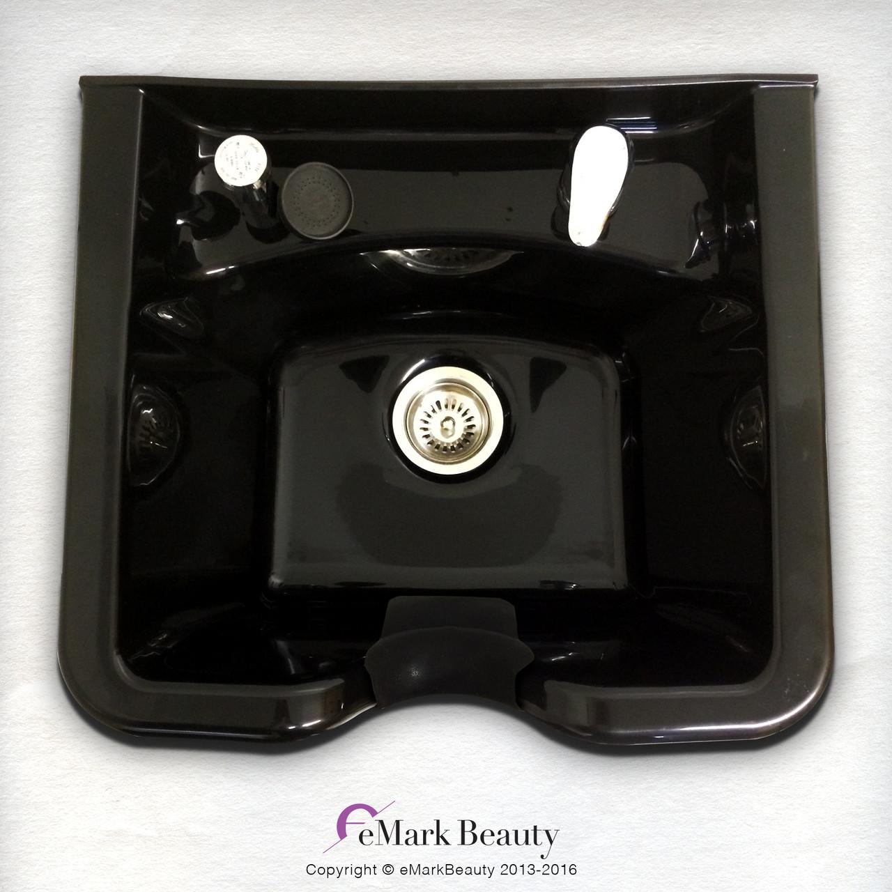 Extra Wide Square ABS Plastic Shampoo Bowl TLC-B22 KSGT