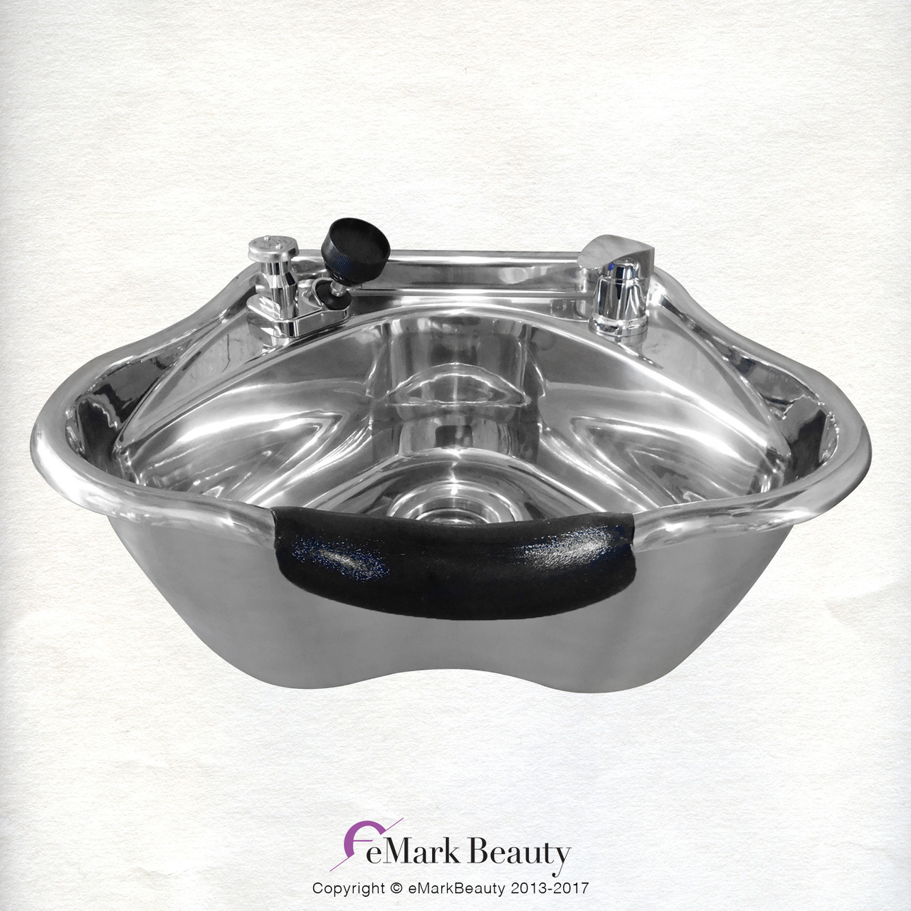 Polished Stainless Steel Beauty Salon Shampoo Bowl TLC-1368