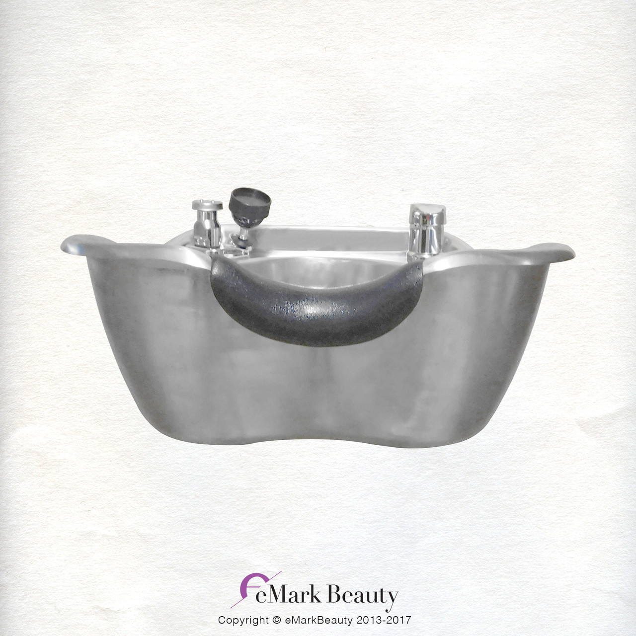 Brushed Stainless Steel Beauty Salon Shampoo Bowl TLC-1367