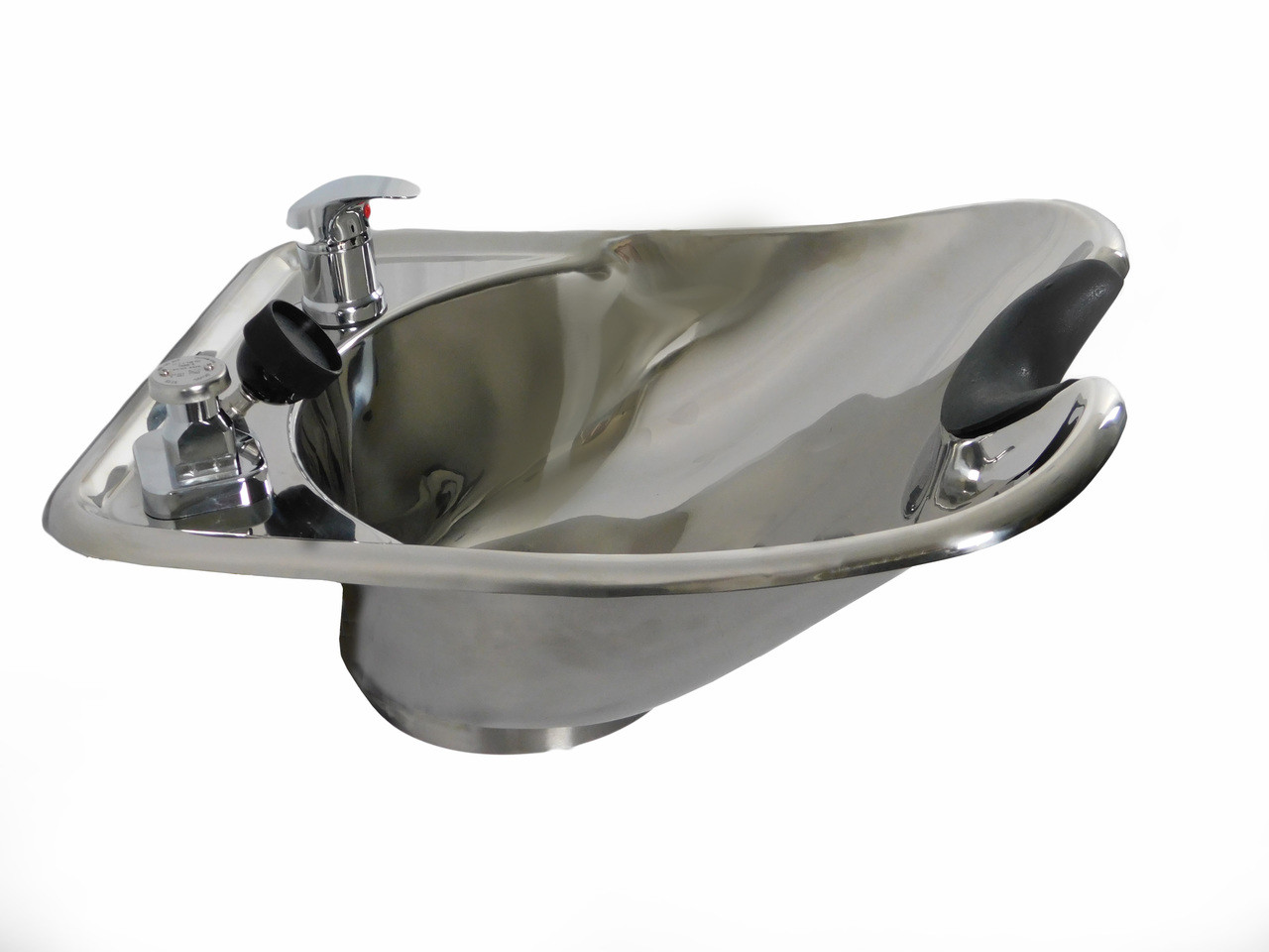 Polished Stainless Steel Beauty Salon Shampoo Bowl TLC-1568