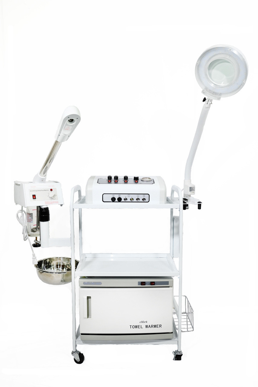 11 Functions all in 1 Facial Machine: Microdermabrasion, High Frequency, Galvanic, Facial Brush & more TLC-3026 CFM