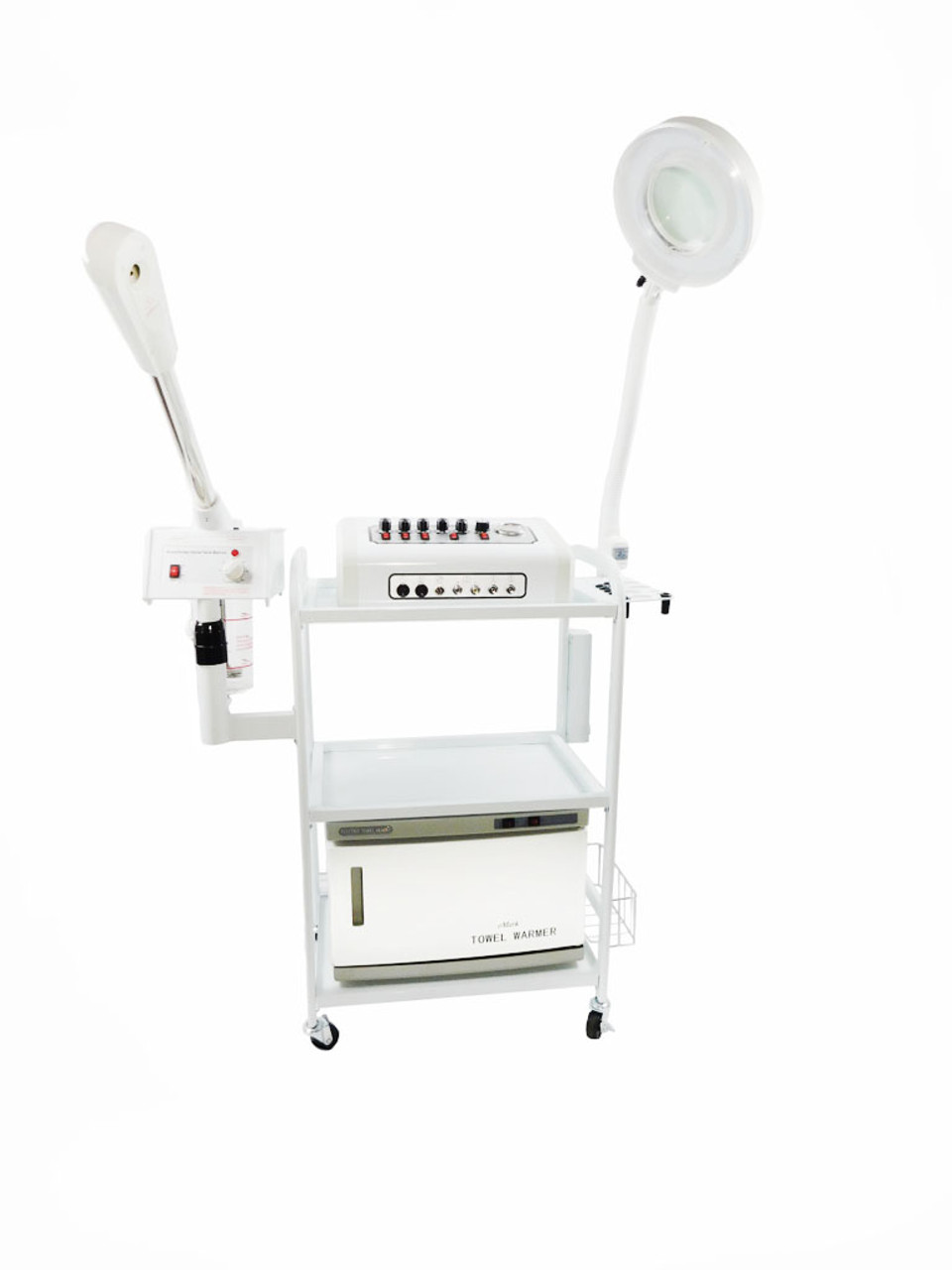 Aromatherapy Glass Jar Steamer 13 in 1 Skincare All in 1 Microdermabrasion Facial Machine TLC-3027CFM