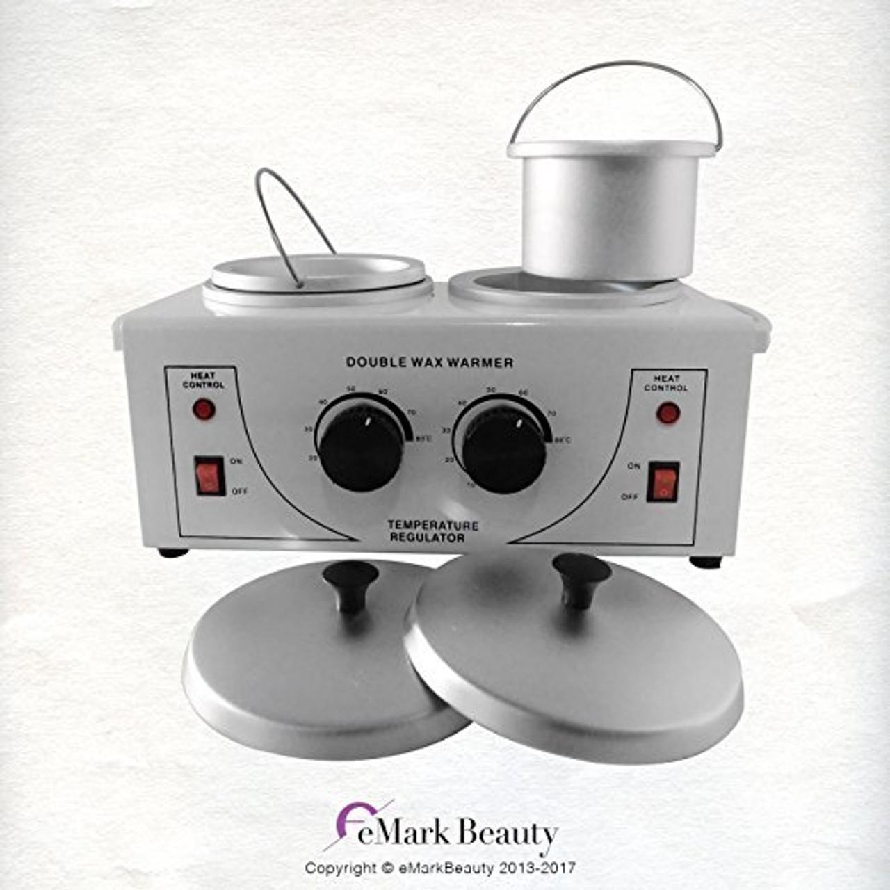 Double Portable Wax Pot Warmer TLC-DOUBLEWAXPOT