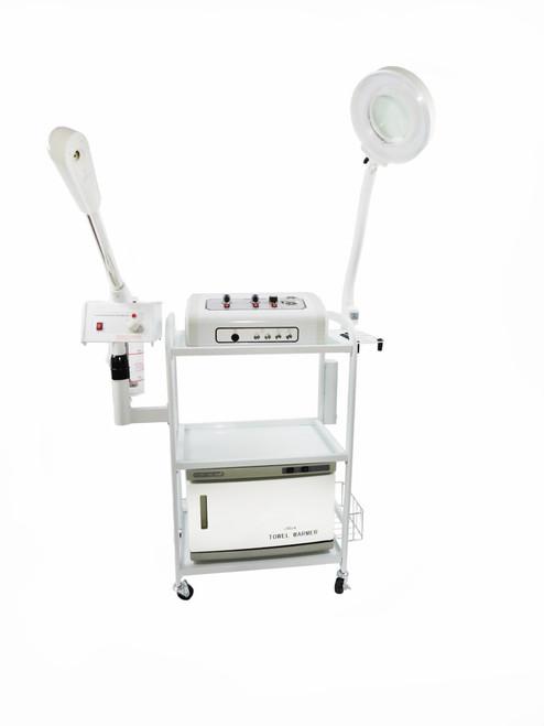 PRE ORDER: Aromatherapy Glass Jar Steamer 9 in 1 Skincare All in 1 Microdermabrasion Facial Machine TLC-3025CFM