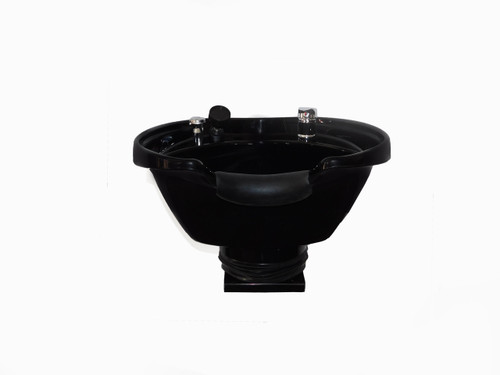 Extra Large Shampoo Bowl Wall Mounted Tilting Shampoo Sink For Salon Spa Equipment TLC-B38-WT