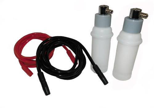 Red and Black Vacuum Tubes with Spray Bottle Diffusers