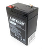 Amstron AP-640F1 6V 4Ah SLA Battery (F1 Terminal) - Close out item