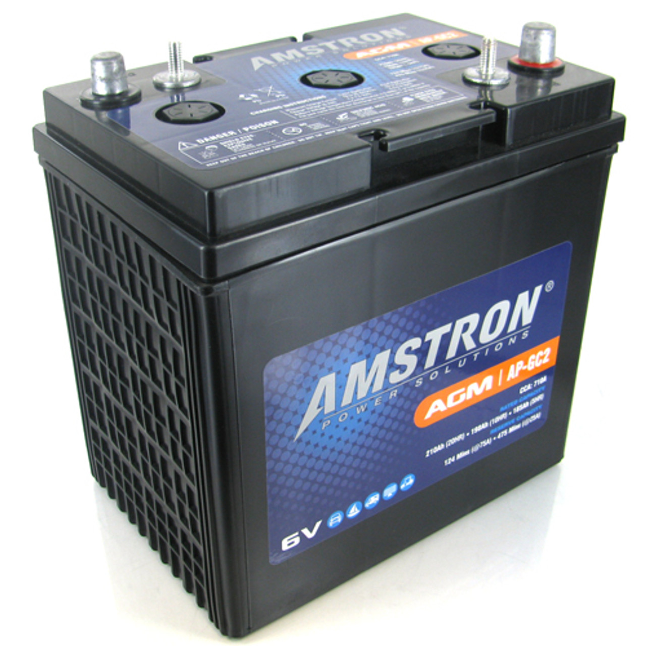 Amstron AP-GC2 6V AGM Deep Cycle Battery on