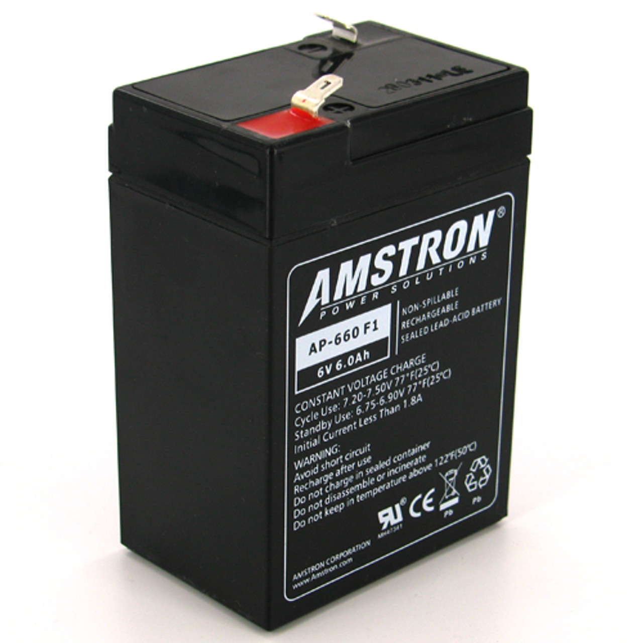 Casil CA640 6v 4ah UPS Battery for Lithonia ELB06042
