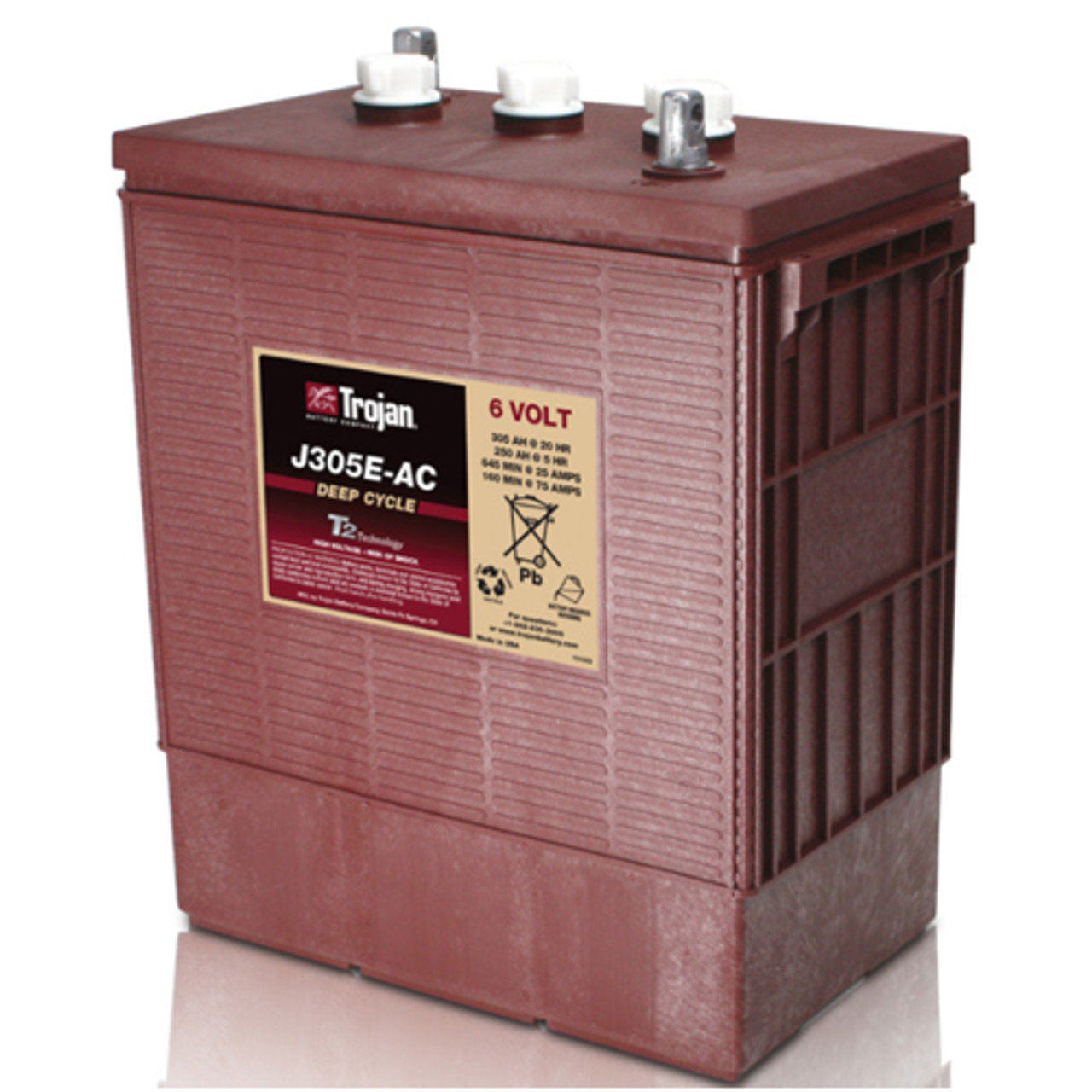Trojan J305E-AC Deep Cycle Battery