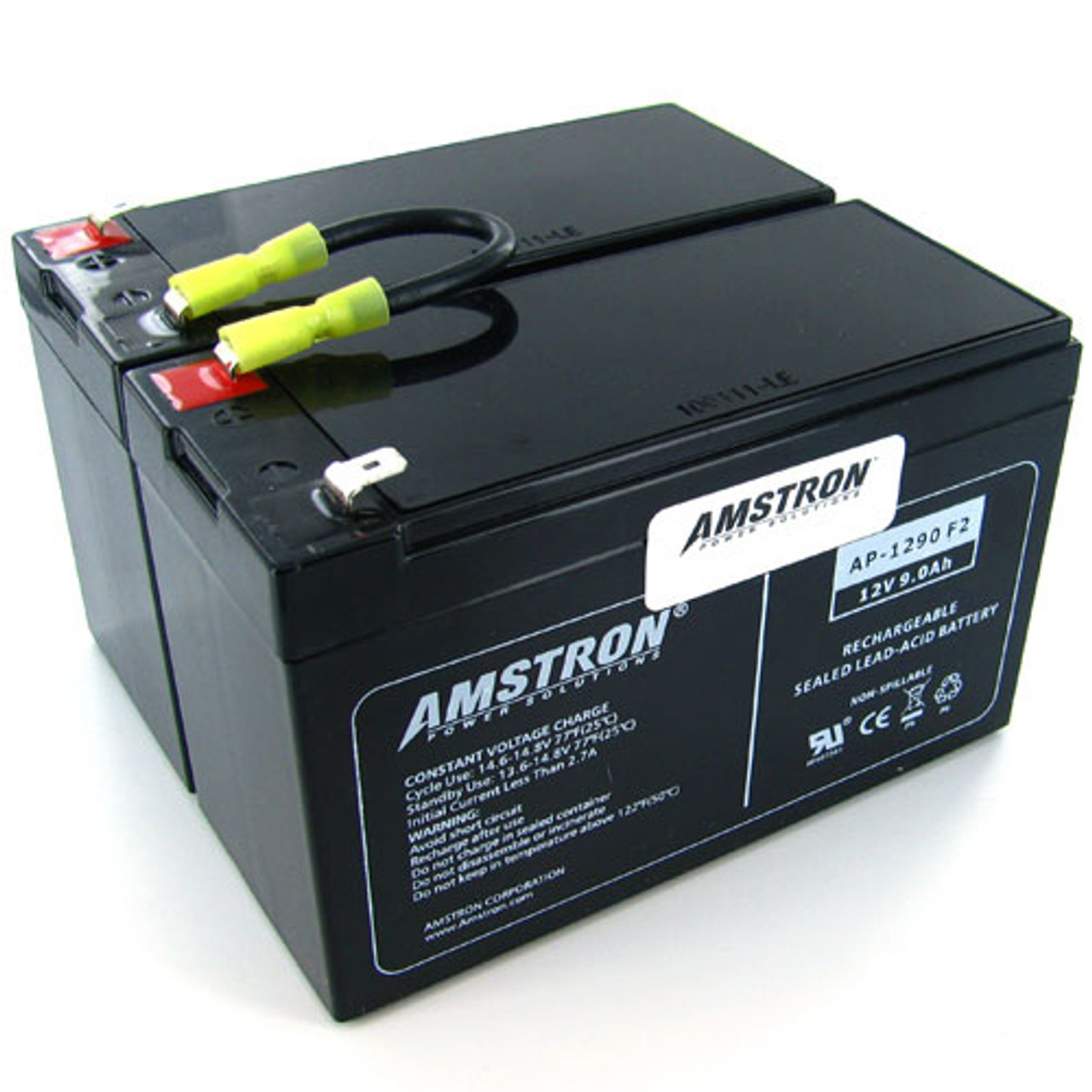 APC RBC109 Replacement Battery by Amstron (2 Year Warranty)