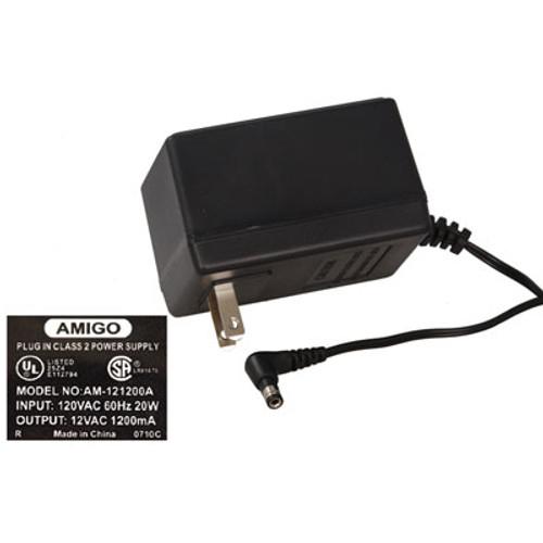 12VAC, 1200mA AC-to-AC Wall Adapter Power Supply