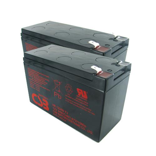 CSB 12V 9Ah AGM Battery F2 Terminal 2 Pk