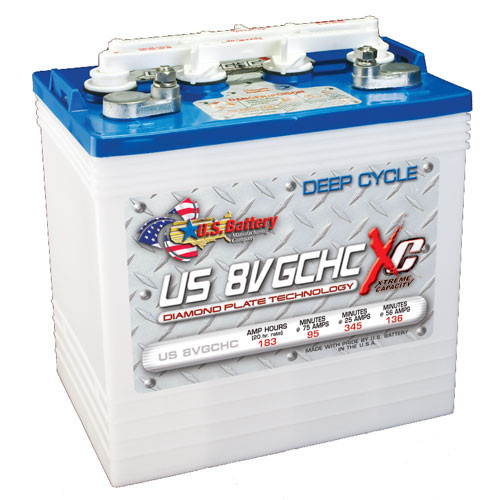 US Battery US8VGCHCXC 8V Deep Cycle Battery