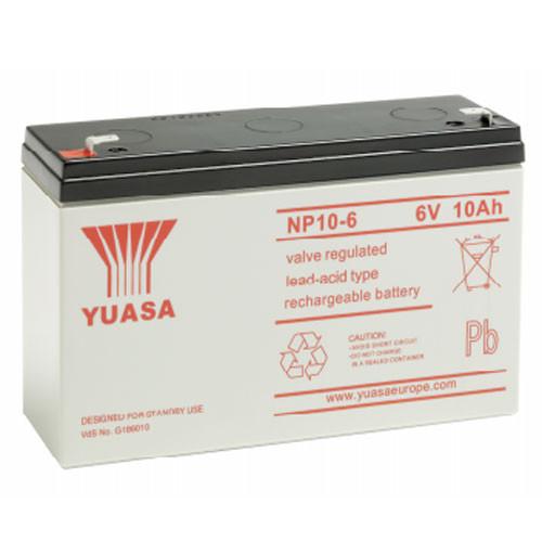 YUASA-NP10-6 Image 1 Front
